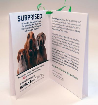 Humanewatch Holiday Card